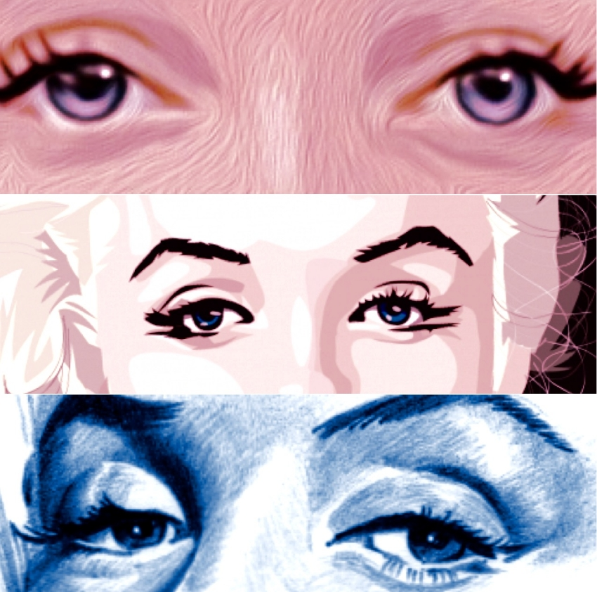 Marilyn Monroe por Henstepbatbot